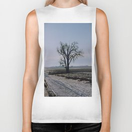 Minnesota Winter- Tree - on the way to Marshall - Wild Veda Biker Tank
