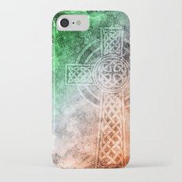Irish Celtic Cross iPhone Case