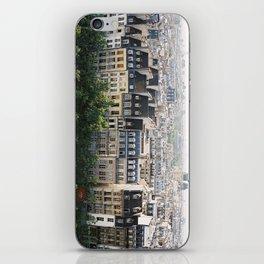 Paris landscape iPhone Skin