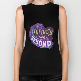 To Infinity And Beyond Biker Tank