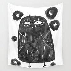 night bird Wall Tapestry