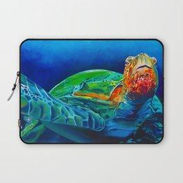 Early Riser - Sea Turtle Laptop Sleeve
