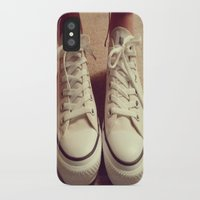 converse iPhone & iPod Cases featuring Converse by M O L L Y J A N E