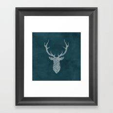 Mystic Deer Framed Art Print