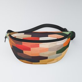 Abstract Geometric Art 1 Fanny Pack