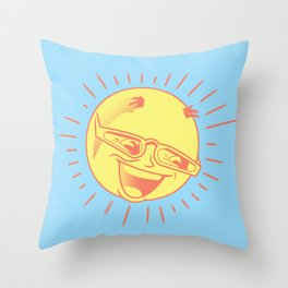 MR SUN Throw Pillow