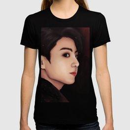 BTS JUNGKOOK FAKE LOVE FANART T-shirt