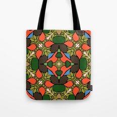 Retro Orange Tote Bag