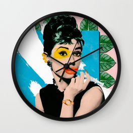 Kylie Hepburn Wall Clock