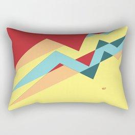 ABSTRACT PUZZLE #minimal #art #design #kirovair #buyart #decor #home Rectangular Pillow