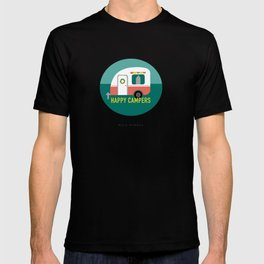Happy Campers - Tiny Trailer T-shirt