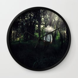 A Clouded Mind Wall Clock