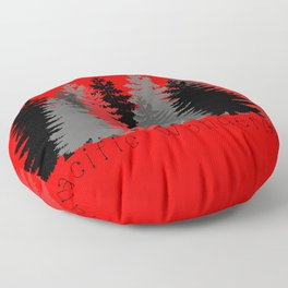 Pacific Wonderland Floor Pillow