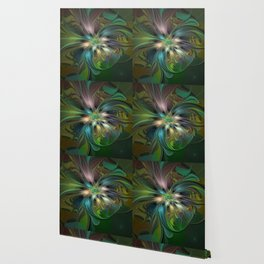 Colorful Abstract Fractal Art Wallpaper