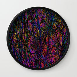 Psych branches 1 Wall Clock