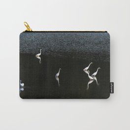 Egrets At Night Carry-All Pouch