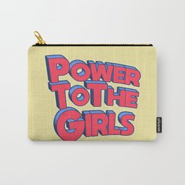 Power To The Girls Carry-All Pouch