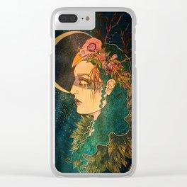 Morrigan: The Phantom Queen Clear iPhone Case