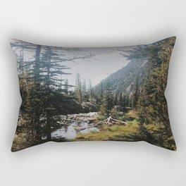 Follow the beaten path  Rectangular Pillow
