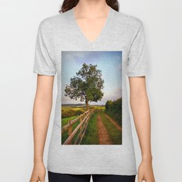 Follow The Path Unisex V-Neck