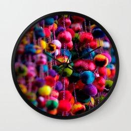Color Fluffs Wall Clock