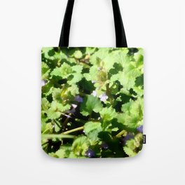 Ground Ivy 07 Tote Bag