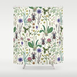 Midsummer Shower Curtain