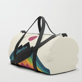 Life Is A Mountain Duffle Bag