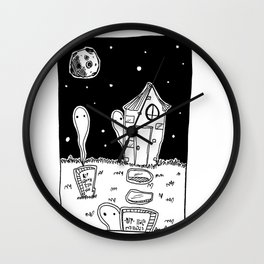 ghosts dont sleep Wall Clock