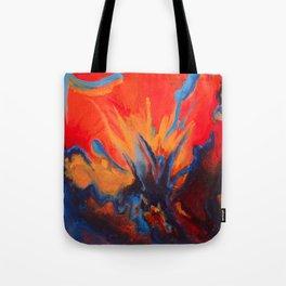 Explosive Dialogue Tote Bag