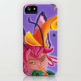 La fée sylphe iPhone Case
