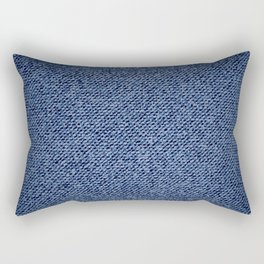 Jeans texture Rectangular Pillow