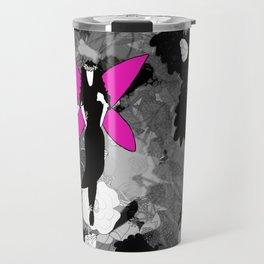 Pink Wings Travel Mug