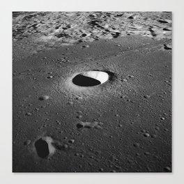 Apollo 10 - Moltke Moon Crater Canvas Print