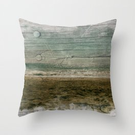 South of italy Throw Pillow