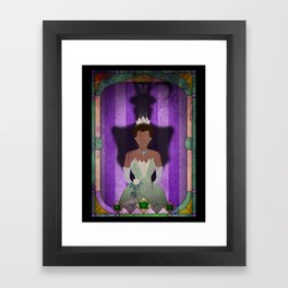 Shadow Collection, Series 1 - Frog Framed Art Print