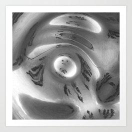 The Blob Bean Art Print