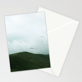 Paragliders in the Peak District Stationery Cards