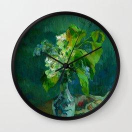 """Paul Gauguin """"Lilas"""" Wall Clock"""