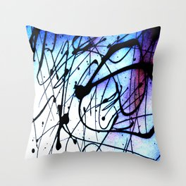 Brain Scramble Throw Pillow