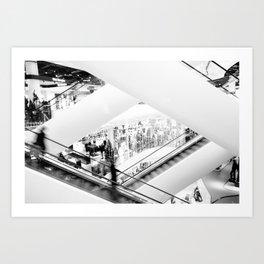 Apparatus in motion Art Print