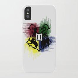 Hogwarts House Colors iPhone Case