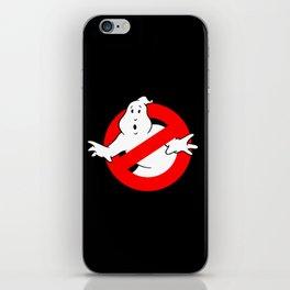 Ghostbusters Black iPhone Skin
