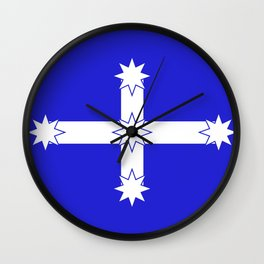Australian Eureka Flag Wall Clock
