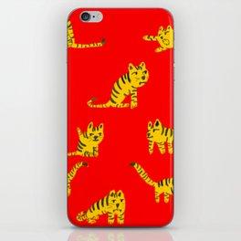 Tigrrrrs iPhone Skin
