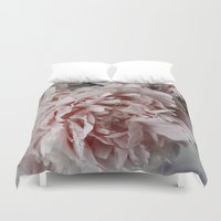 peonies Duvet Covers featuring Peonies  by Pure Nature Photos