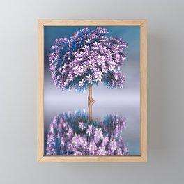 strange light somewhere -26- Framed Mini Art Print