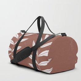 Abstract Leave Pattern Duffle Bag