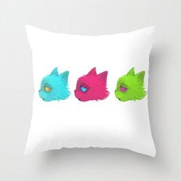 incatdescent Throw Pillow