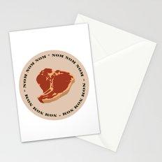 Steak...Nom Nom Nom! Stationery Cards